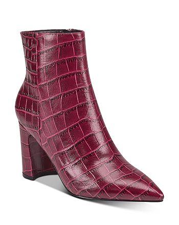 Marc Fisher LTD. - Women's Daith Croc-Embossed Booties