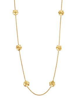 """Marco Bicego - 18K Yellow Gold Petali Long Station Necklace, 36"""""""