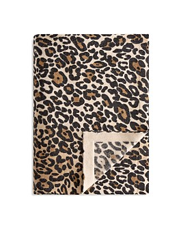 Arlotta - Arlotta Leopard Knit Throw - 100% Exclusive