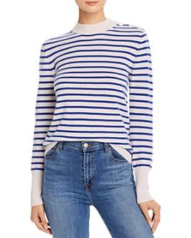Equipment - Striped Cashmere Sweater