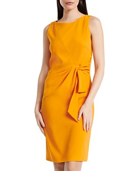 PAULE KA - Tie-Detail Sheath Dress