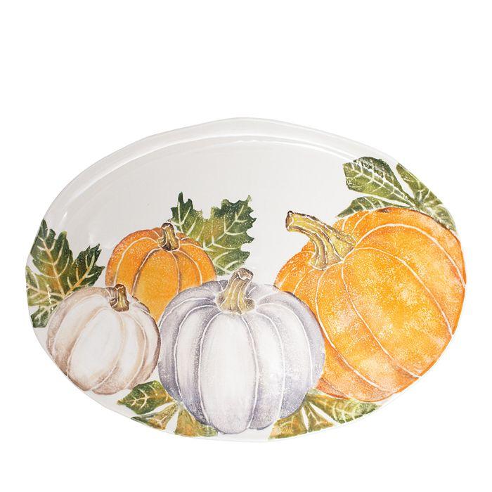 VIETRI - Pumpkins Oval Platter