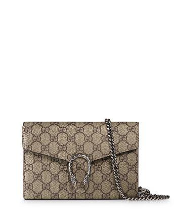 Gucci - Dionysus GG Supreme Chain Wallet