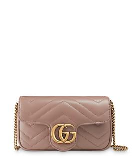 Gucci - GG Marmont Matelasse Leather Super Mini Bag