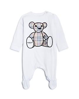 Burberry - Unisex Bear Appliqué Footie - Baby