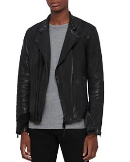 ALLSAINTS - Northwick Leather Biker Jacket