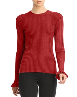 Bailey 44 - Jamie Ruffled-Cuff Sweater