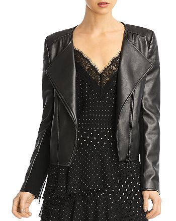 Bailey 44 - Knox Faux Leather Moto Jacket