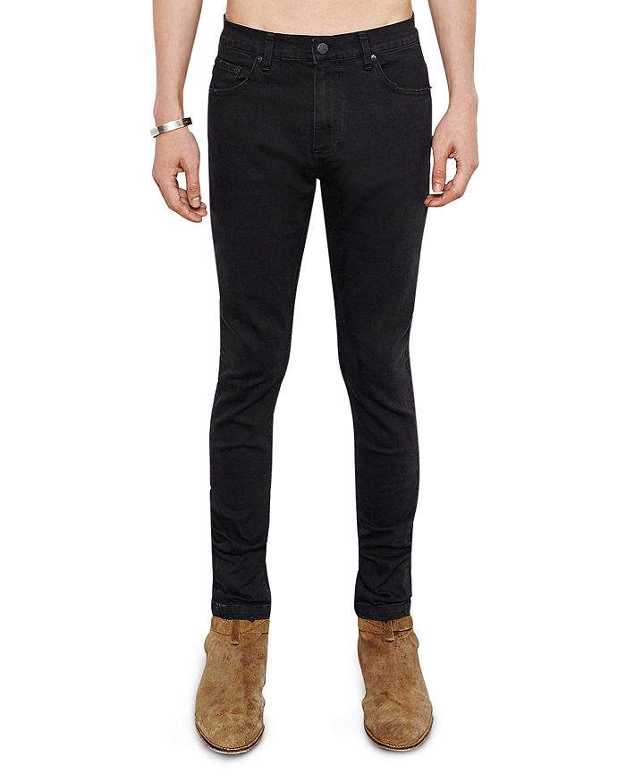 The People Vs. Skinny Fit 1990 Jeans In Black Noir