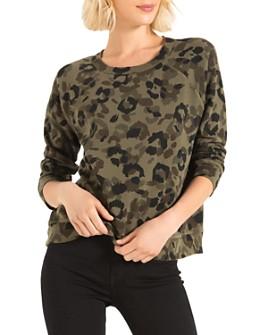 n:philanthropy - Montreal Leopard Print Sweatshirt
