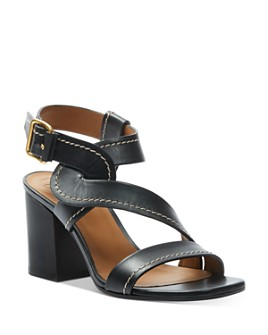 Chloé - Women's Candice Chunky-Heel Sandals