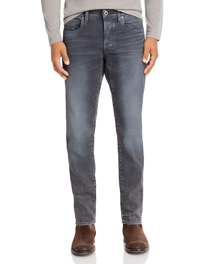 G-STAR RAW - 3301 Slim Fit Jeans in Dark Aged Cobler