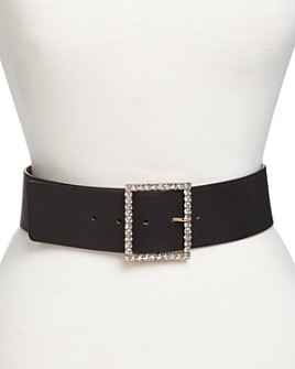 B-low the Belt - Women's Ingrid Embellished Leather Belt