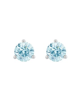 Lightbox Jewelry - Solitaire Lab-Created Diamond Stud Earrings