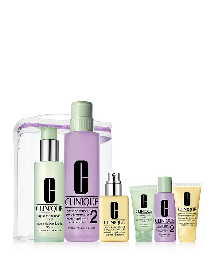 Clinique - Great Skin Anywhere Gift Set - Very Dry to Dry Skin ($98 value)