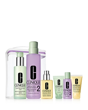 Clinique Great Skin Anywhere Gift Set - Very Dry to Dry Skin ($98 value)