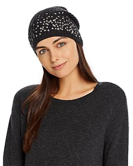 Carolyn Rowan Accessories - Scattered Stars Embroidered Beanie