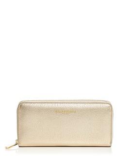 Campo Marzio - Leather Zip Wallet