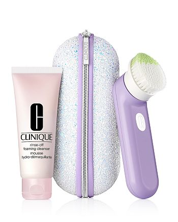 Clinique - Glow to Go Sonic Clean Gift Set ($120 value)