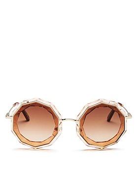 Chloé - Women's Caite Round Sunglasses, 52mm