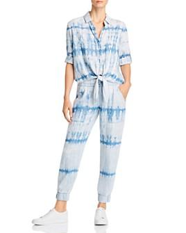 Bella Dahl - Tie-Dye Shirt & Jogger Pants