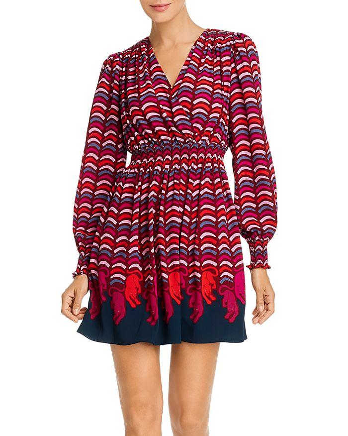 kate spade new york - Rawr Printed Smocked Dress