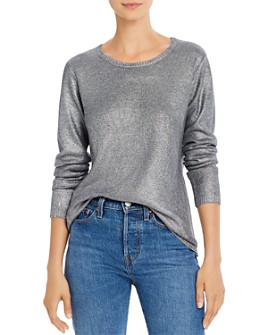 Majestic Filatures - Metallic Silk & Wool Sweater