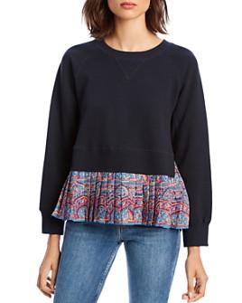 LINI - Claire Mixed Media Sweatshirt - 100% Exclusive