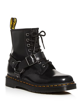 Dr. Martens - Women's Harness Combat Booties