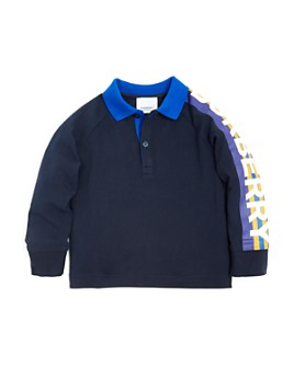 Burberry - Boys' Duncan Long-Sleeve Polo Shirt - Little Kid, Big Kid