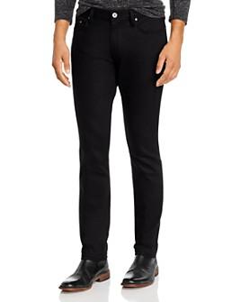 John Varvatos Collection - x Led Zeppelin Chelsea Slim Fit Jeans in Black