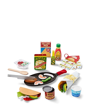 Melissa & Doug Fill & Fold Taco & Tortilla Set - Ages 3+