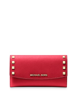 MICHAEL Michael Kors - Large Studded Trifold Wallet