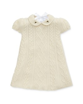 Ralph Lauren - Girls' Cable-Knit Sweater Dress - Baby