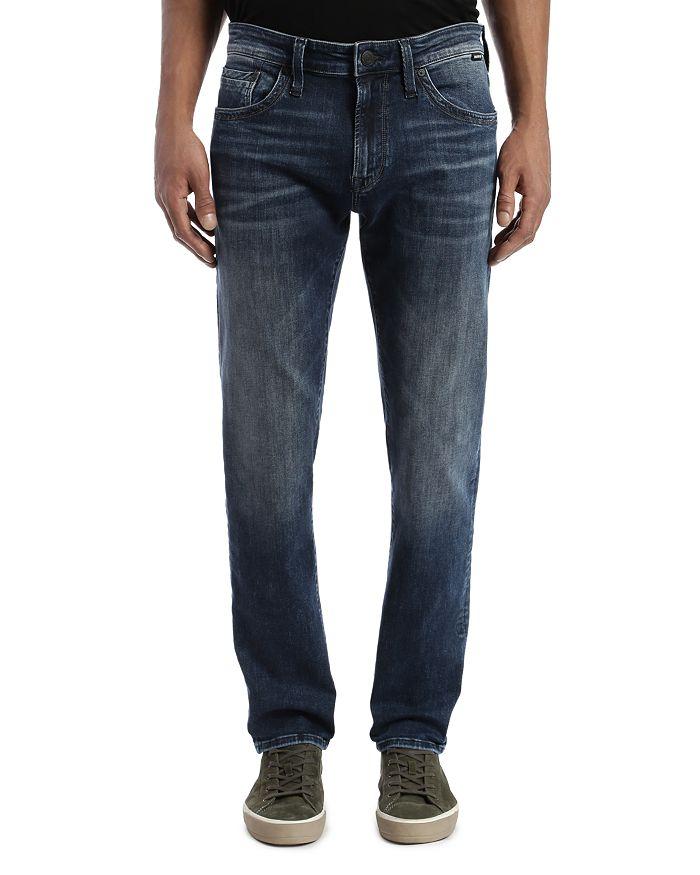 Mavi - Marcus Slim Straight Jeans in Dark Foggy Authentic Vintage