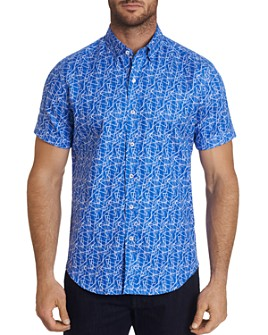 Robert Graham - Marston Classic Fit Short-Sleeve Shirt - 100% Exclusive