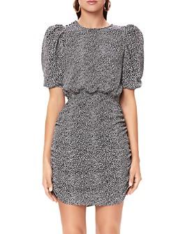 AFRM - Keegan Puff-Sleeve Mini Dress