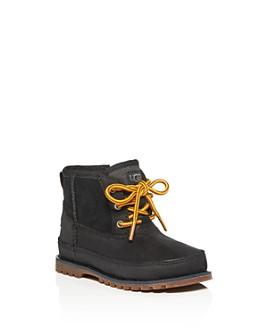 UGG® - Boys' Bradley Waterproof Nubuck Leather & Suede Boots - Little Kid, Big Kid