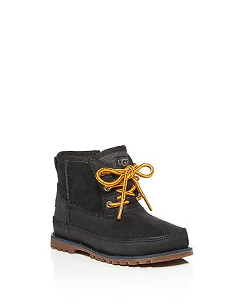 UGG® - Boys' Bradley Waterproof Nubuck Leather & Suede Boots - Little Kid, Big Kid