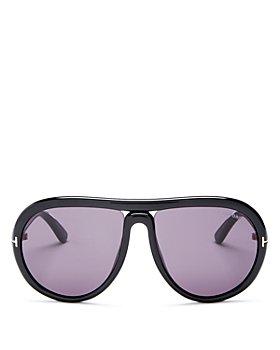 Tom Ford - Women's Cybil Infinity Tube Aviator Sunglasses, 60mm
