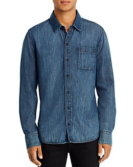 PAIGE - Bedford Denim Regular Fit Shirt