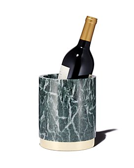 Viski - Burke Emerald & Gold Wine Chiller