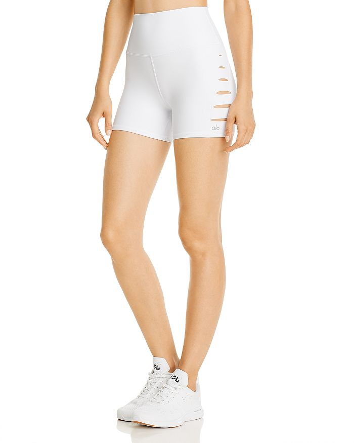 Alo Yoga - Cutout Bike Shorts