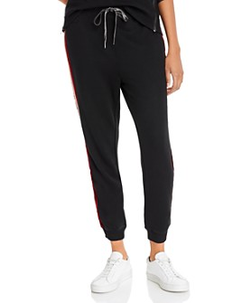 Rails - Mason Velvet-Stripe Jogger Pants