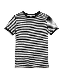 ALTERNATIVE - Girls' Striped Ringer Tee - Big Kid