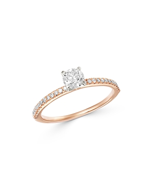 Bloomingdale's Solitaire Diamond Ring in 14K White & Rose Gold, 0.55 ct. t.w. - 100% Exclusive