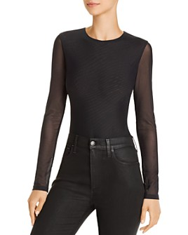 Alice and Olivia - Nara Mesh Bodysuit