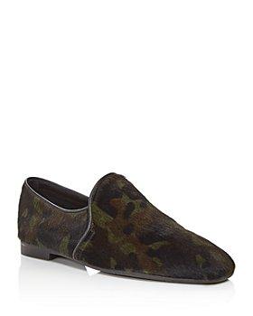 Aquatalia - Women's Revy Camo-Print Weatherproof Loafers