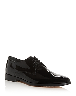 Paul Smith Men's Coyle Patent Leather Oxfords In Black