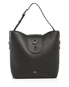 Furla - Net Leather Hobo